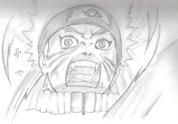 Drawn naruto nine tailed Naruto nine of tailed Naruto