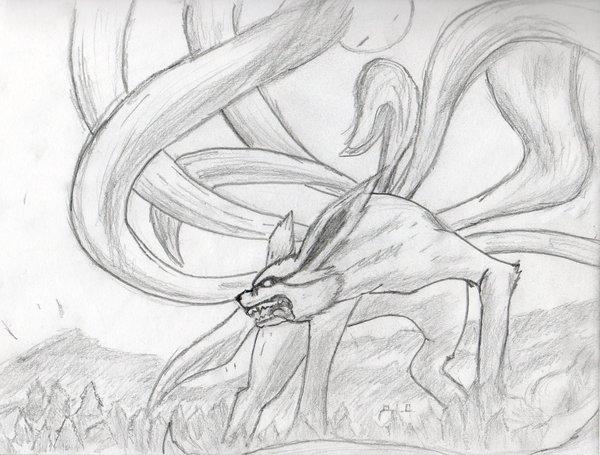 Drawn naruto nine tailed Nine Tailed Gumiho Masteri The