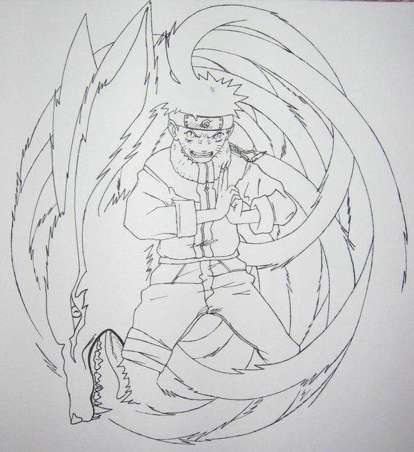 Drawn naruto nine tailed Narutoninetailedfox Nine 29 DeviantArt Naruto