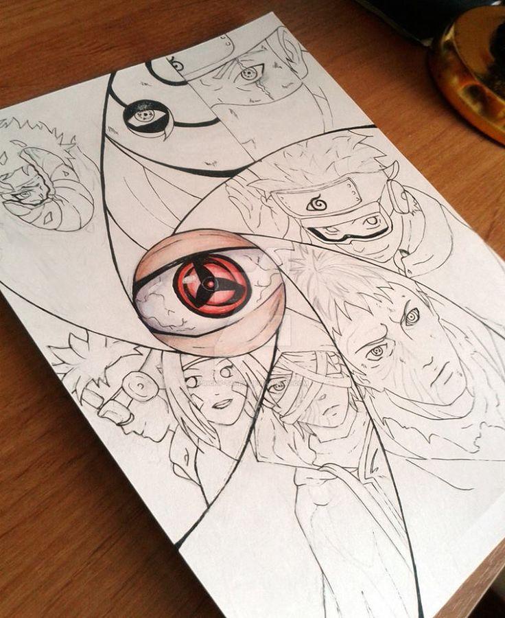 Drawn naruto obito On Obito to 25+ Artist)