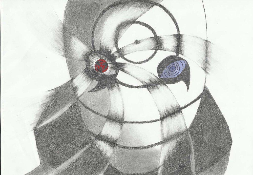 Drawn naruto obito By Masked Shippuden Masked on