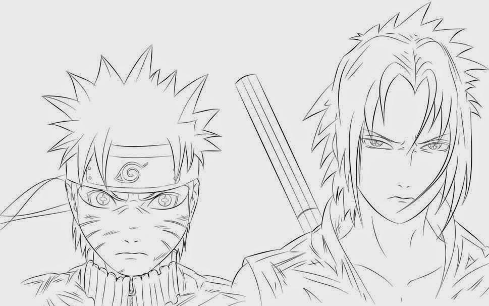 Drawn naruto outline Drawing Drawing Naruto Naruto 's