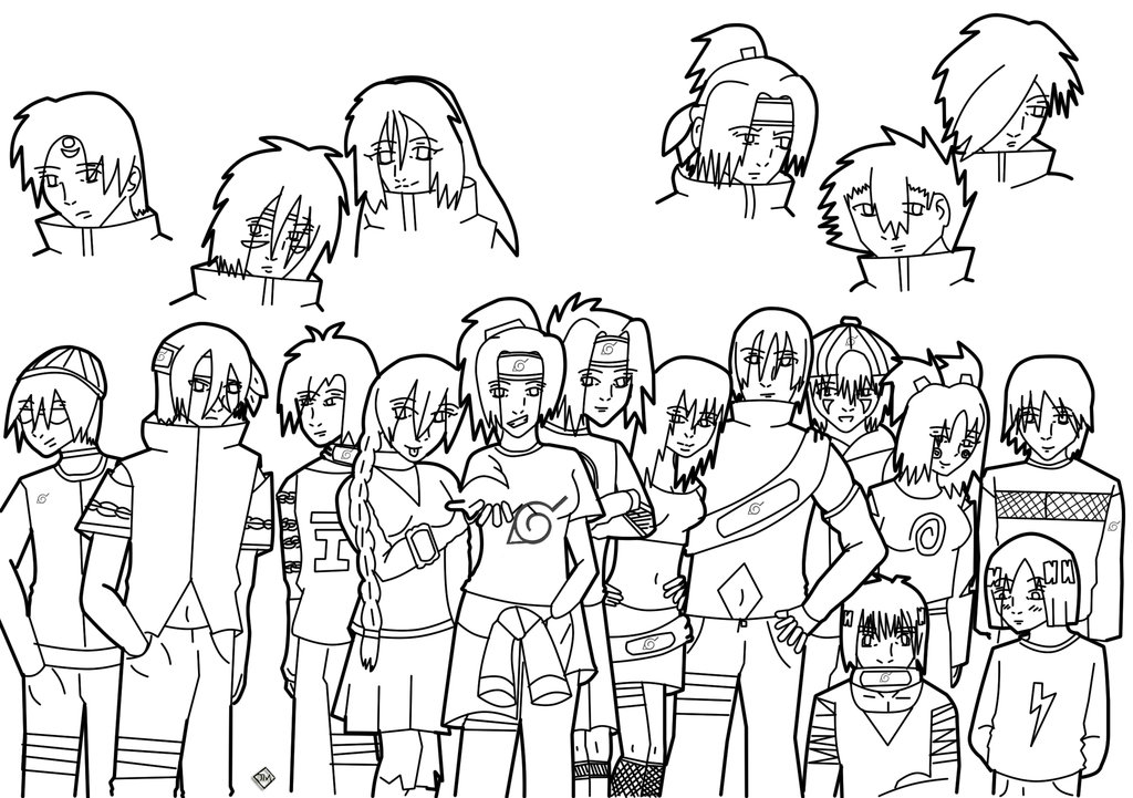 Drawn naruto outline Next Chidori Naruto by on