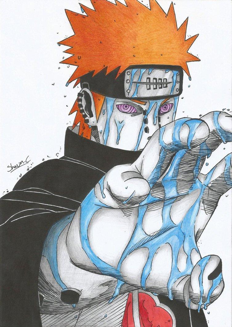Drawn naruto pain drawing This Pin Madara Sasuke more