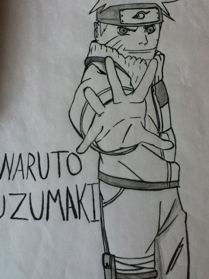 Drawn naruto pencil sketch By PENCIL Hall DRAWING AND
