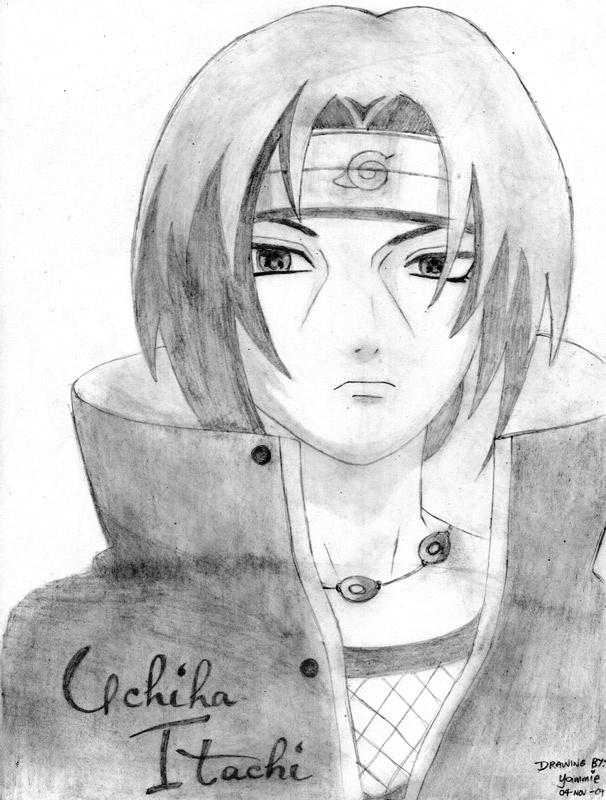 Drawn naruto pencil sketch Character an on images awesome