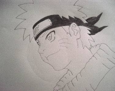 Drawn naruto pencil sketch 1 Draw Graphite Naruto Draw
