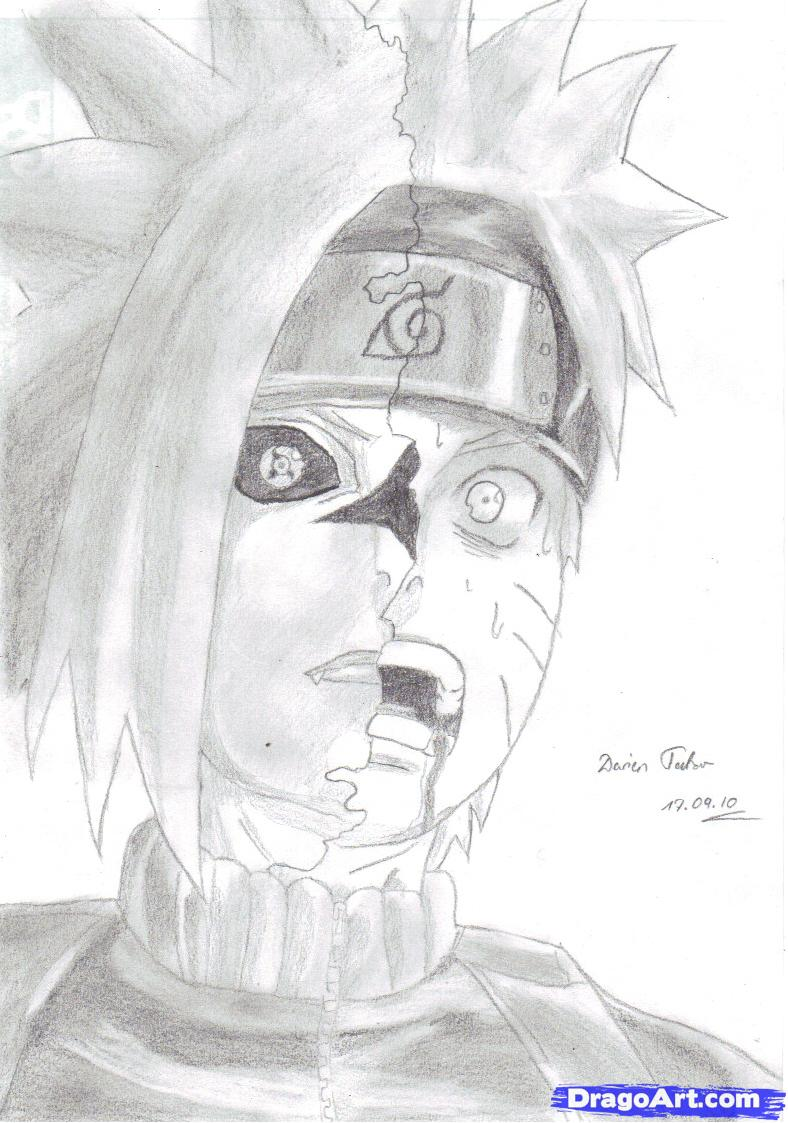 Drawn naruto pencil step by step Draw Once how and to