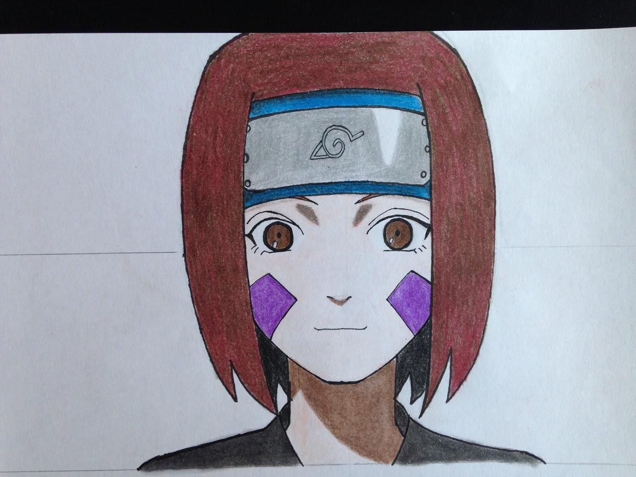 Drawn naruto rin Draw YouTube (Naruto) to Nohara