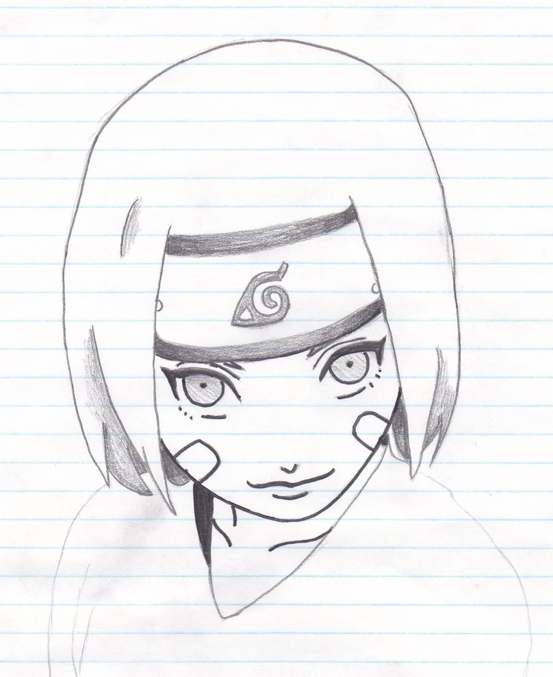 Drawn naruto rin Eagle by by Naruto from