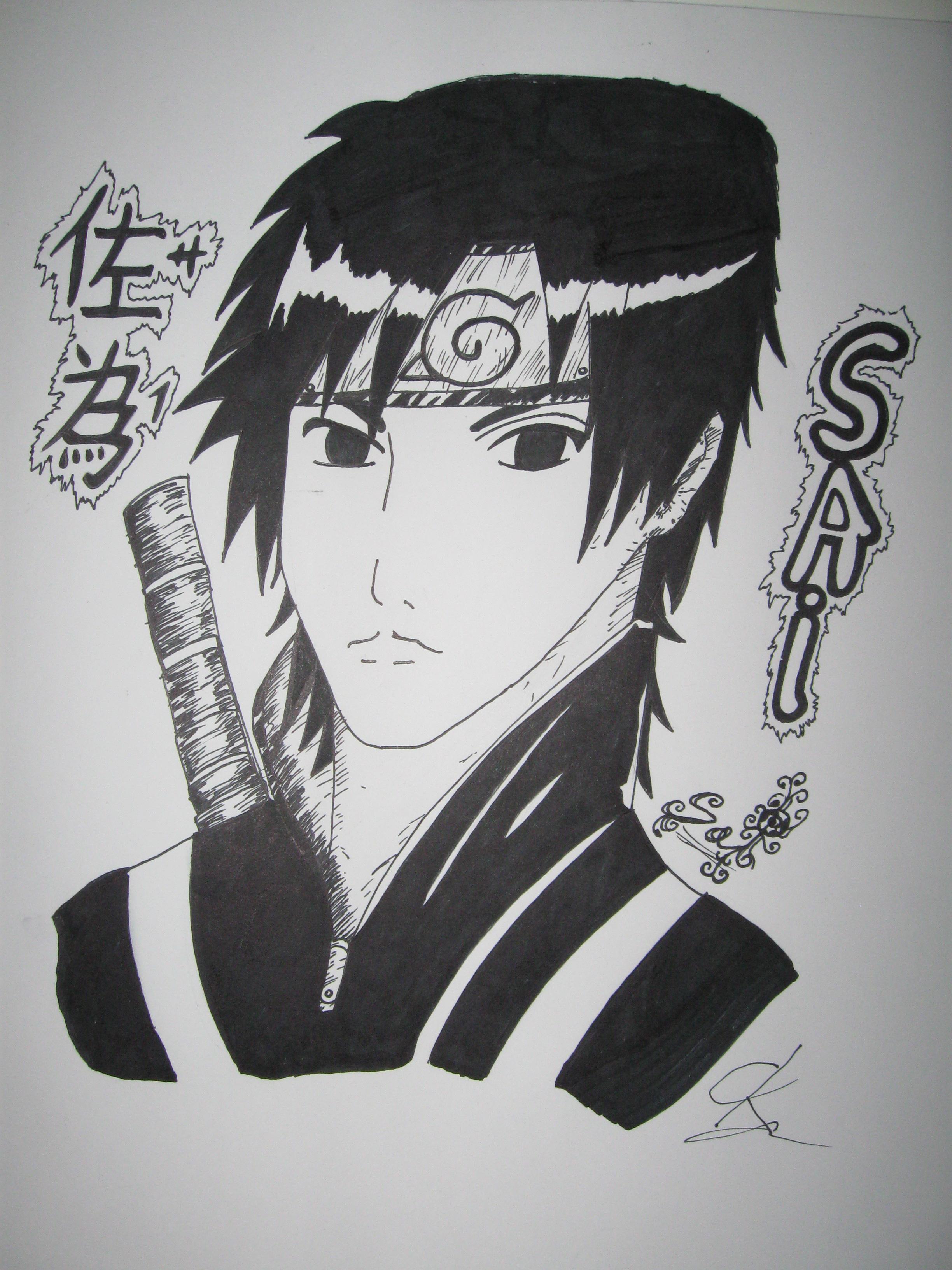 Drawn naruto sai Drawing From Sep TheKoRnatoR Sai