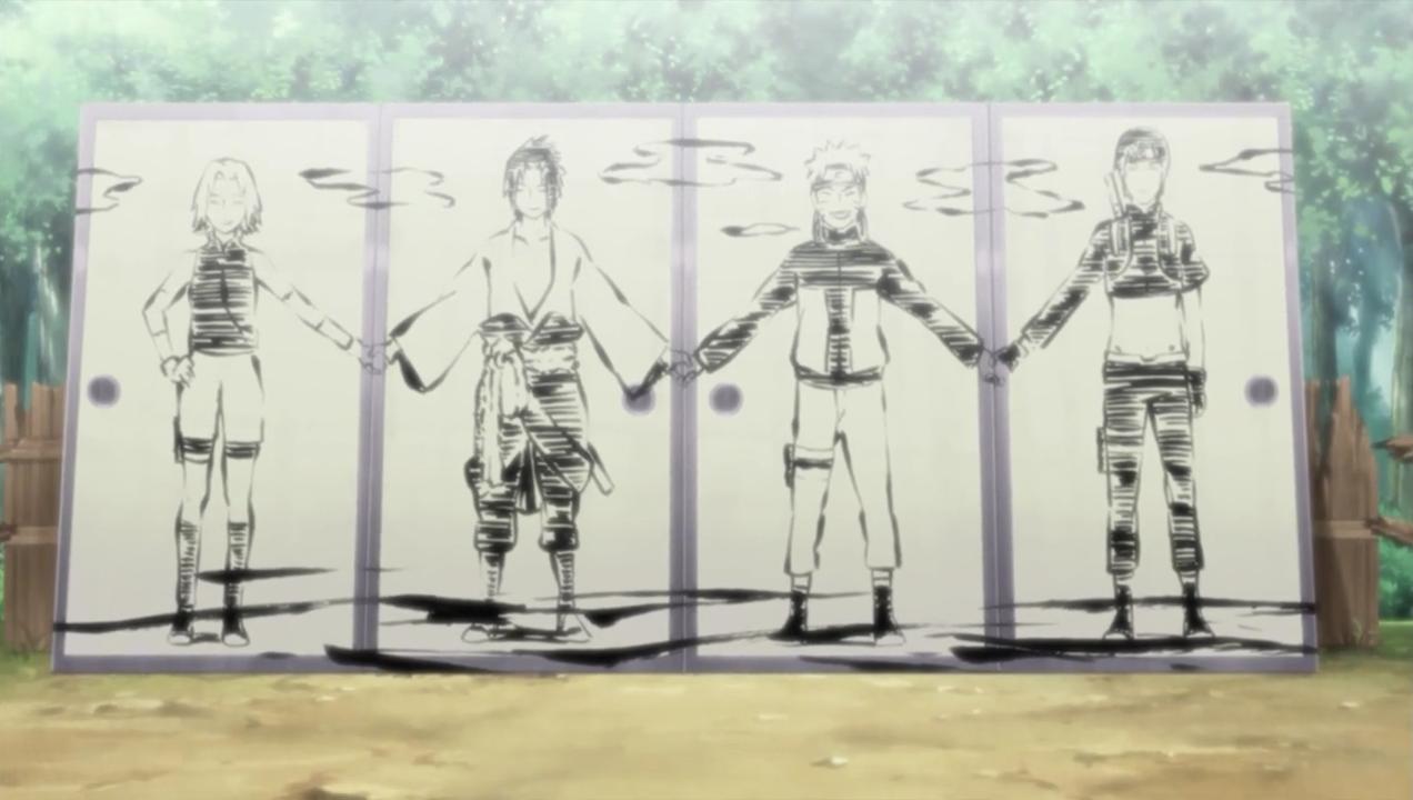 Drawn naruto sai Off FANDOM Wikia Narutopedia Day