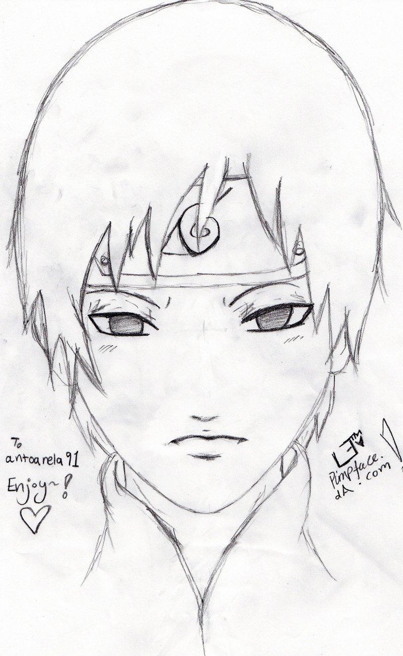 Drawn naruto sai Pimpface Sai pimpface Naruto Naruto