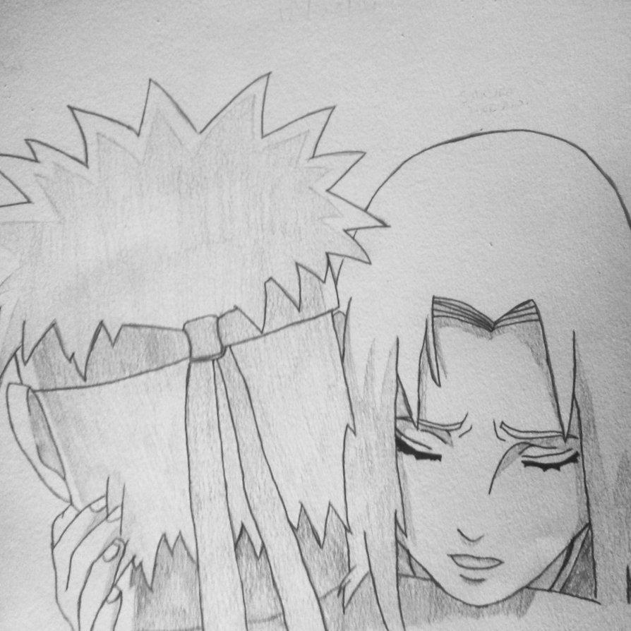 Drawn naruto sakura CiroGab Uzumaki by Hug and