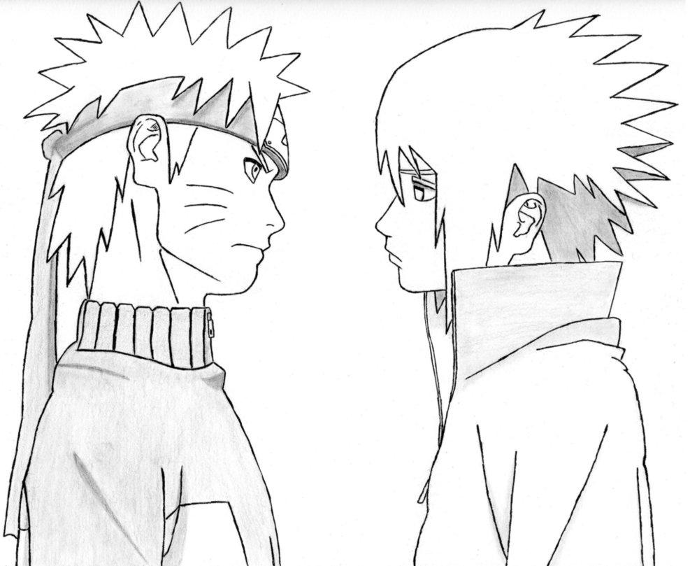 Drawn pice sasuke PkkHase0 Naruto Naruto on Sasuke