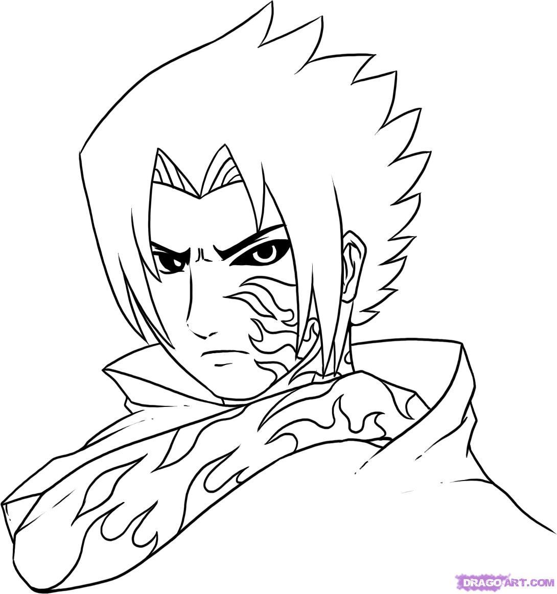 Drawn pice sasuke 6 by Curse Step Mark