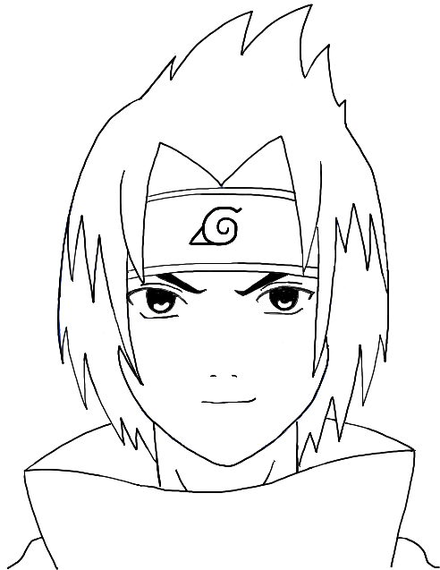 Drawn pice sasuke Drawing of How from Step