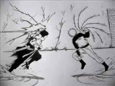 Drawn pice sasuke Of (Shippuden) YouTube Naruto Drawing