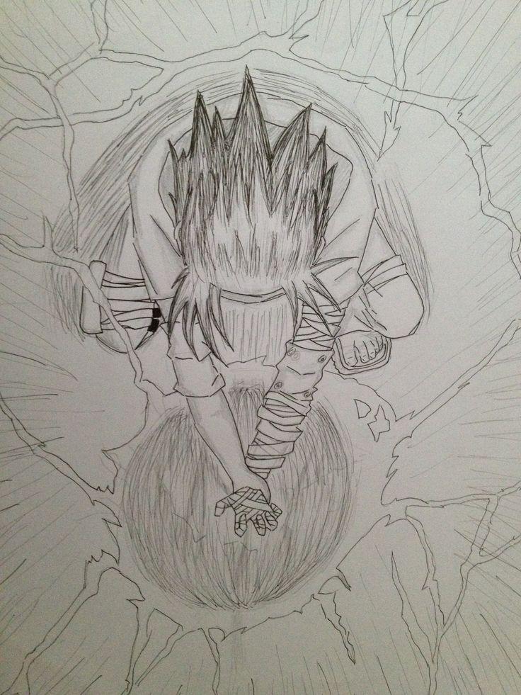 Drawn naruto sasuke chidori drawing đɾåωιиgѕ Pinterest Naruto chidori sasuke