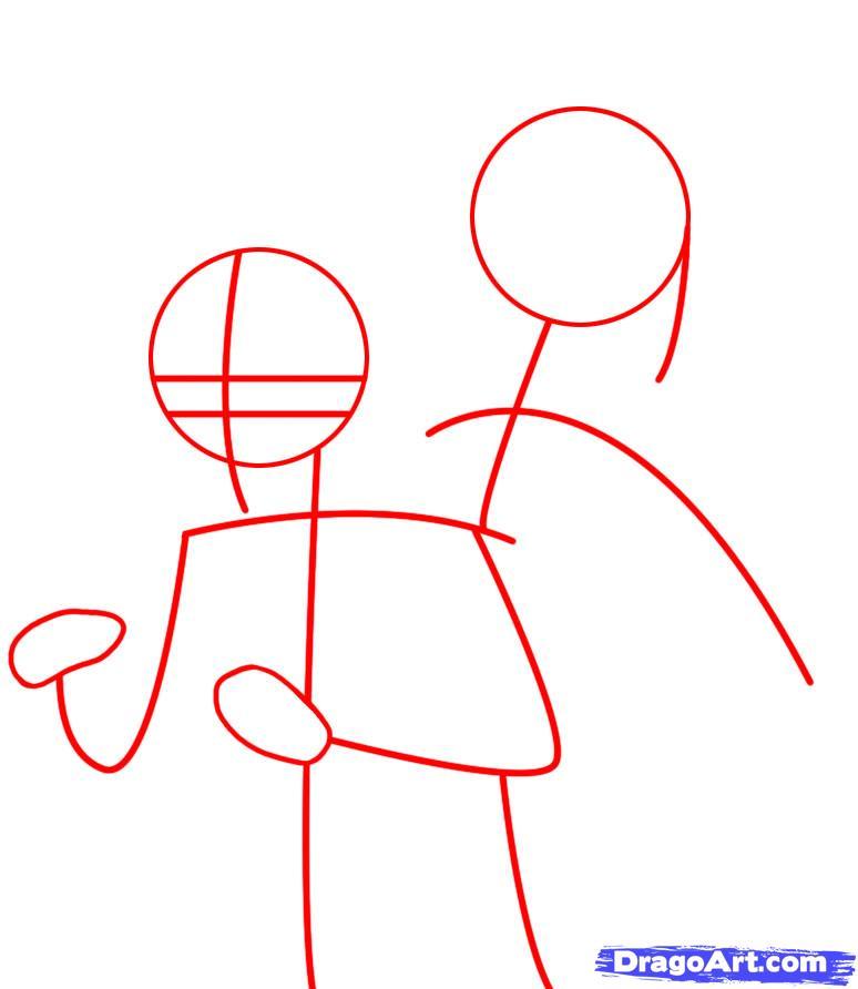 Drawn naruto sasuki To Draw Naruto naruto draw