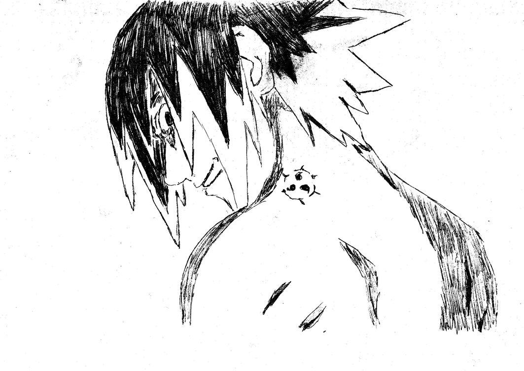 Drawn naruto sasuki : by Drawing Sasuke Drawing