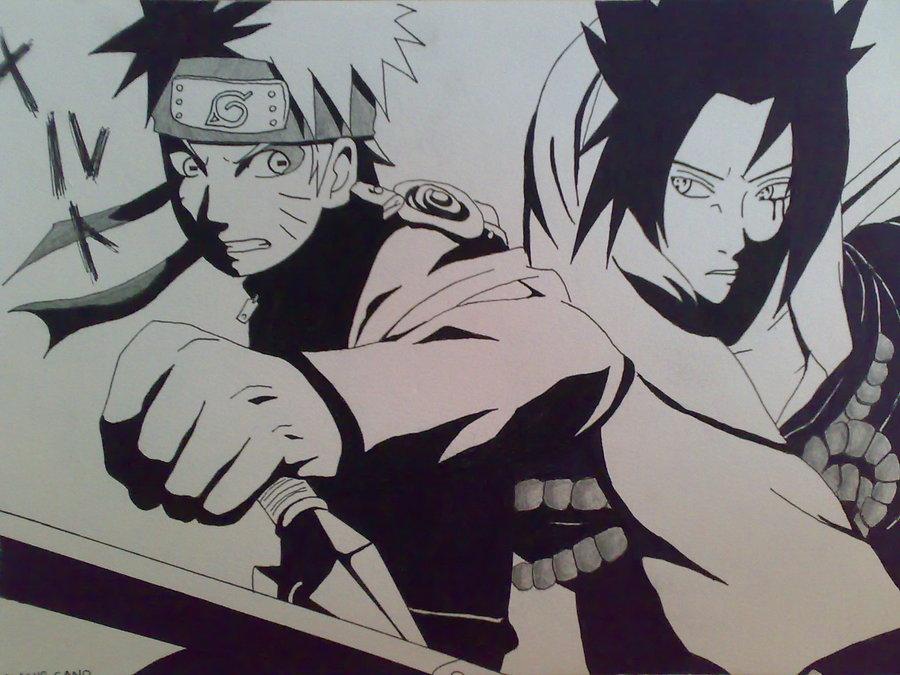 Drawn naruto sasuki And by [Drawing] Sasuke [Drawing]