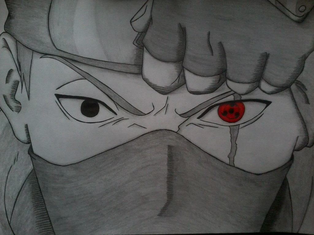 Drawn naruto sharingan DeviantArt in the in by