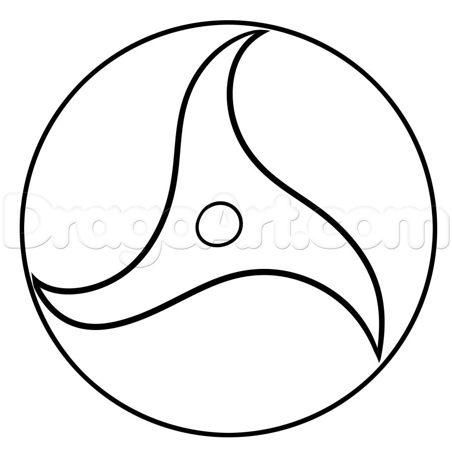 Drawn naruto sharingan Itachi to Draw Step Sharingan