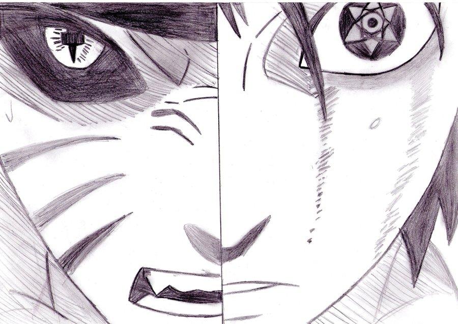 Drawn pice sasuke Kamisama66 kamisama66 Naruto Places vs
