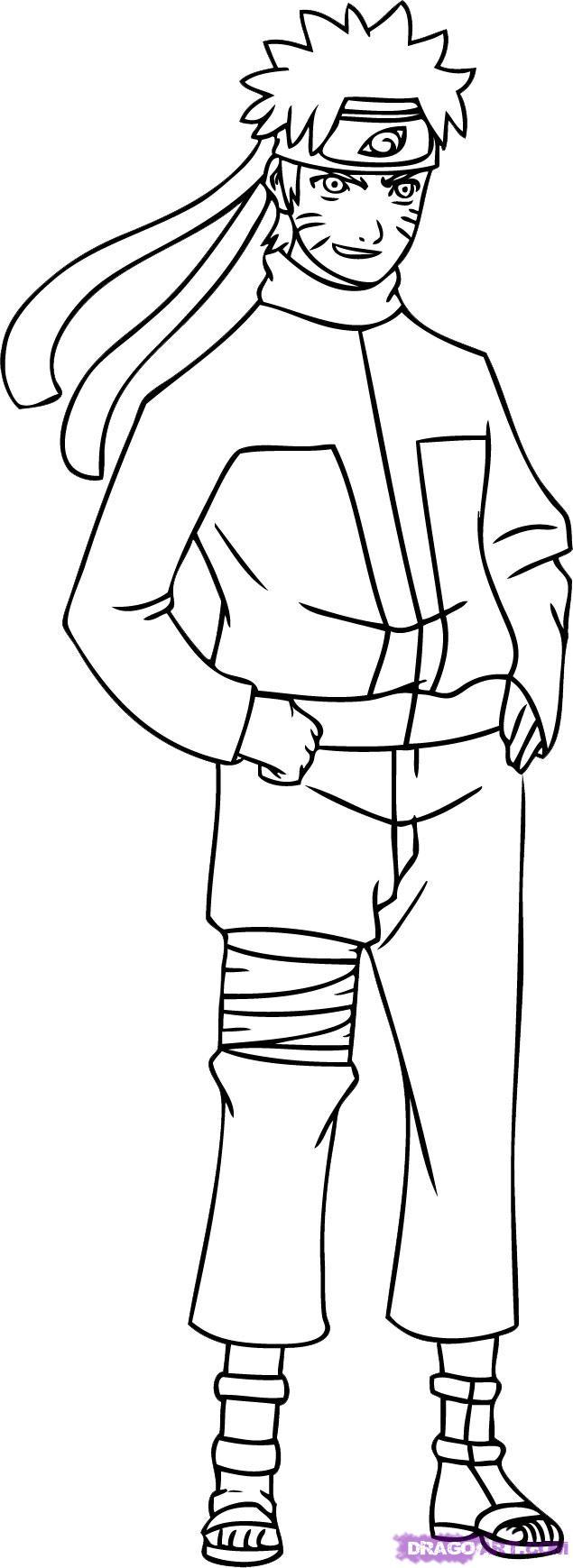 Drawn naruto simple #3