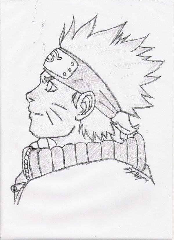 Drawn naruto simple #15