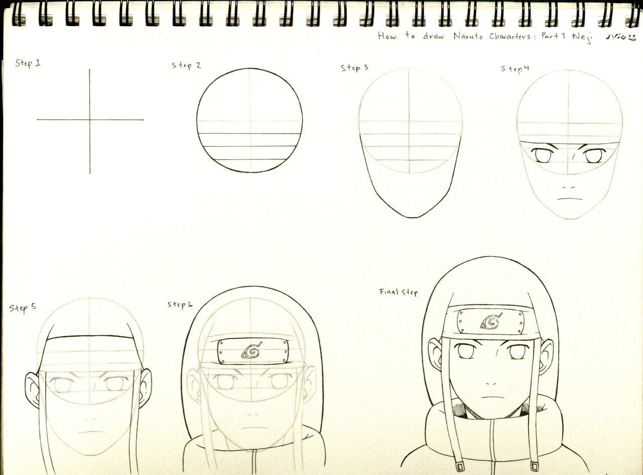 Drawn naruto simple #11