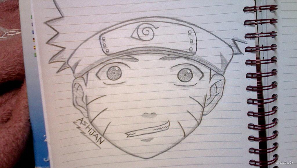 Drawn naruto simple #1