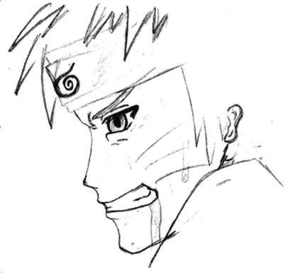 Drawn naruto simple #2