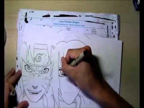 Drawn naruto team 7 (Team Sakura Drawing return) Sasuke