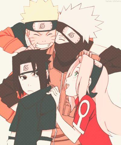 Drawn naruto team 7 On more Naruto Pin 7