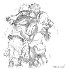 Drawn naruto team 7 Is more face Pin shippuden
