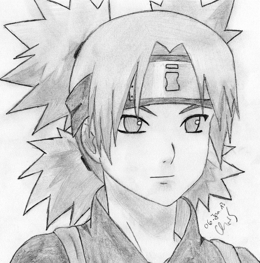 Drawn naruto temari By YamiHinotori by Naruto Temari