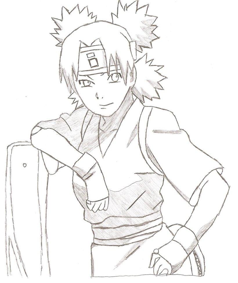 Drawn naruto temari By NARUTO Temari Temari on