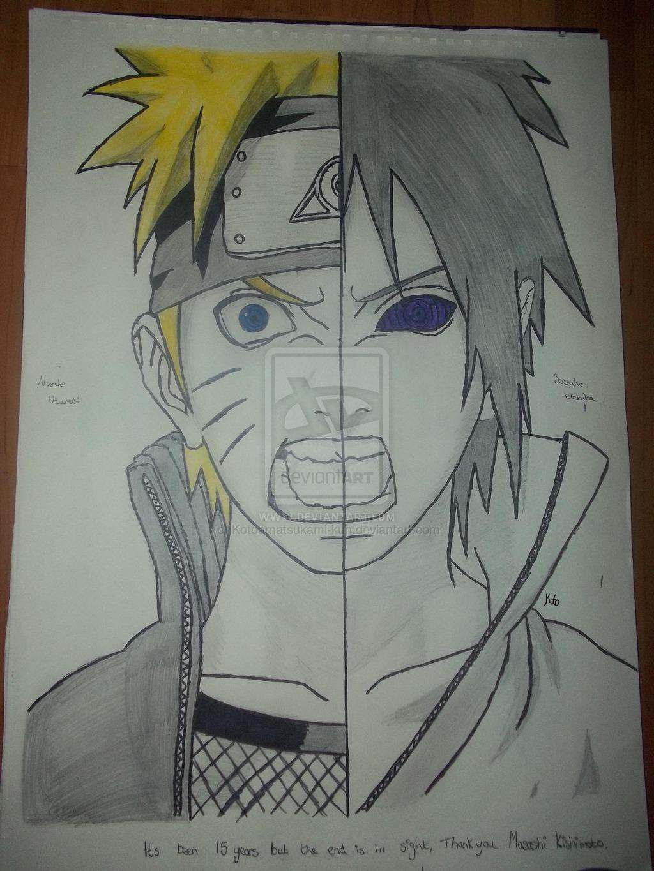 Drawn amd sasuke uchiha  Uzumaki on Sasuke and