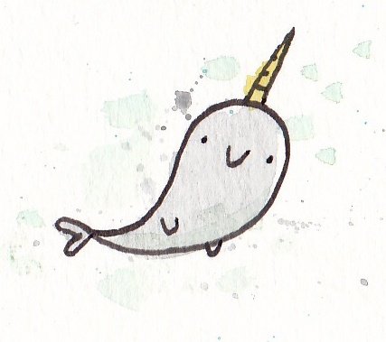Drawn narwhal Narwhal Narwhal on tattoo Best