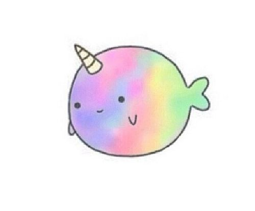 Narwhal clipart cute Google narwhal cute Just cute