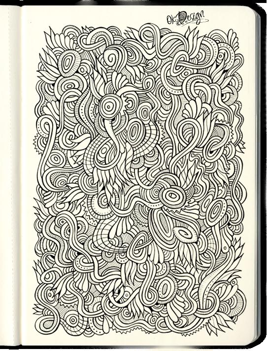 Drawn nature Behance Hand nature Matherials drawn