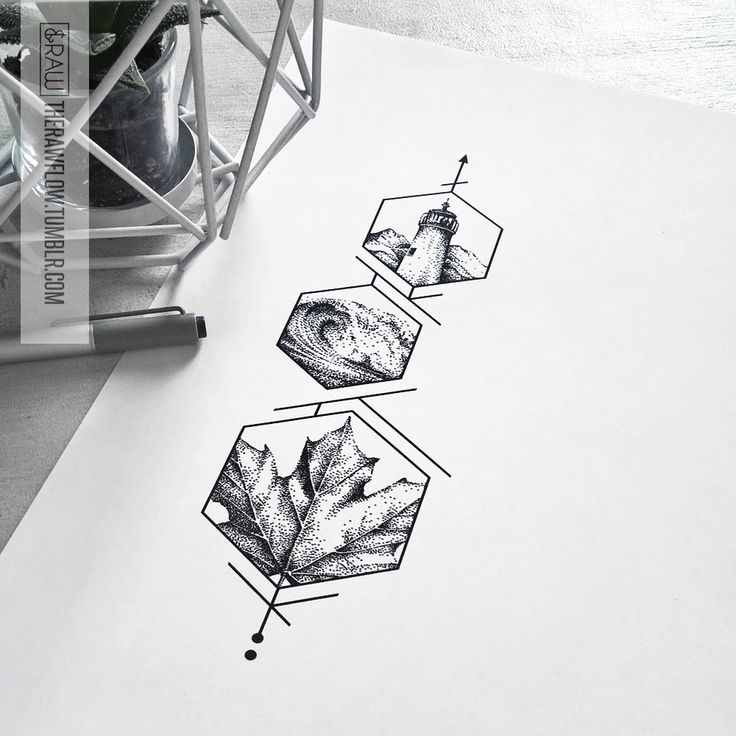 Drawn scenery rare By dotwork Philippe Design ideas