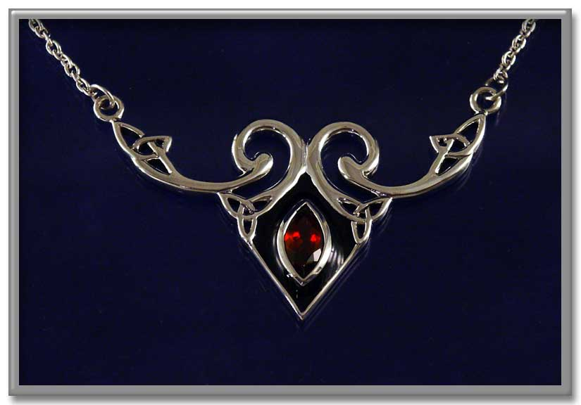 Drawn necklace black and red For Necklace You Gryphon's at