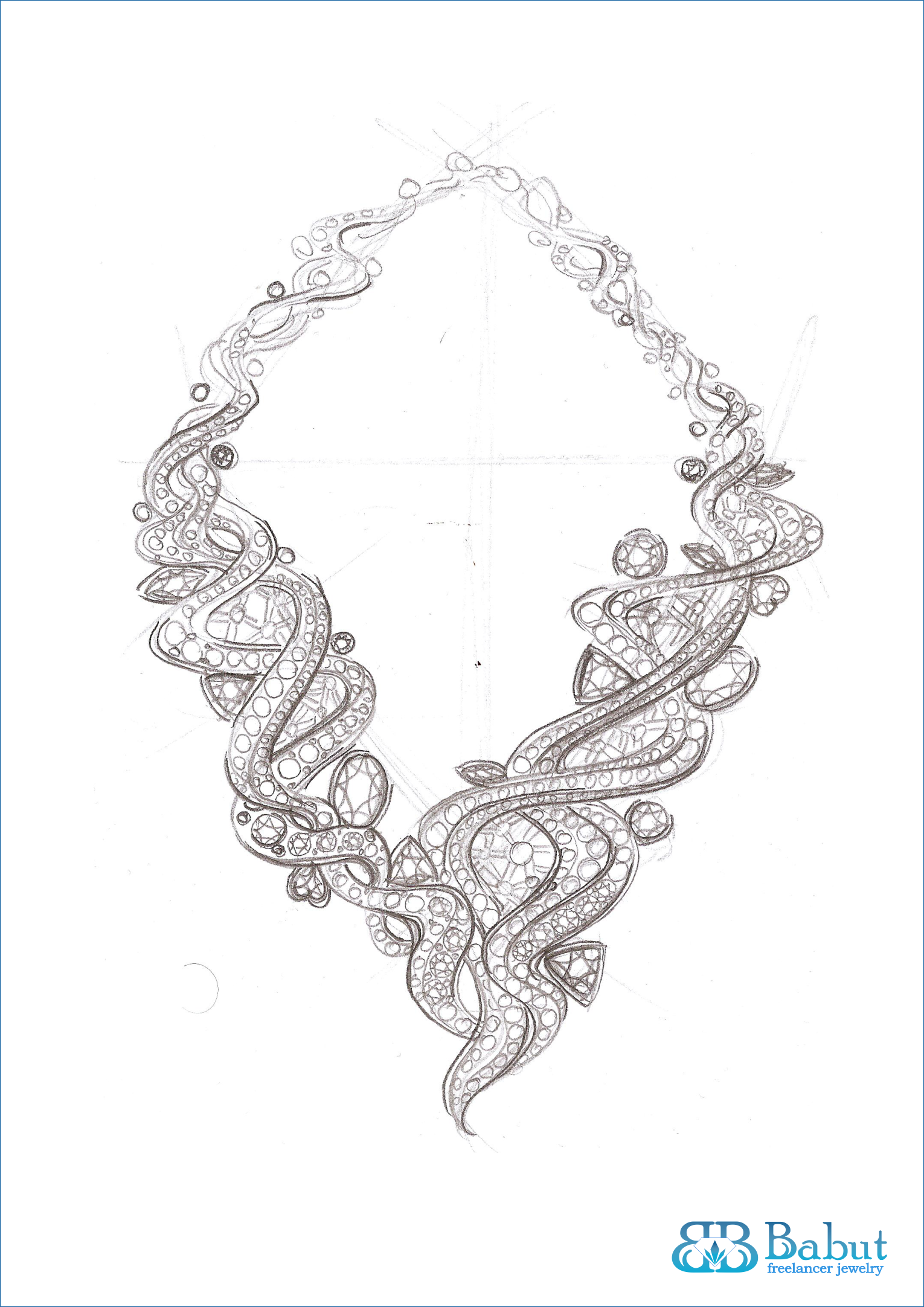 Drawn necklace black and red Search and Google VOL cool