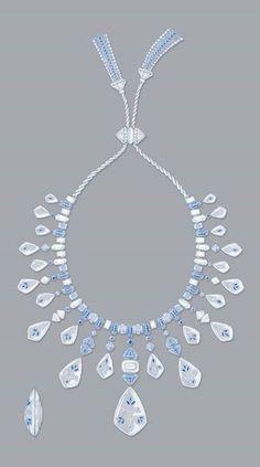 Drawn necklace boucheron  Indes Jodhpur necklace de
