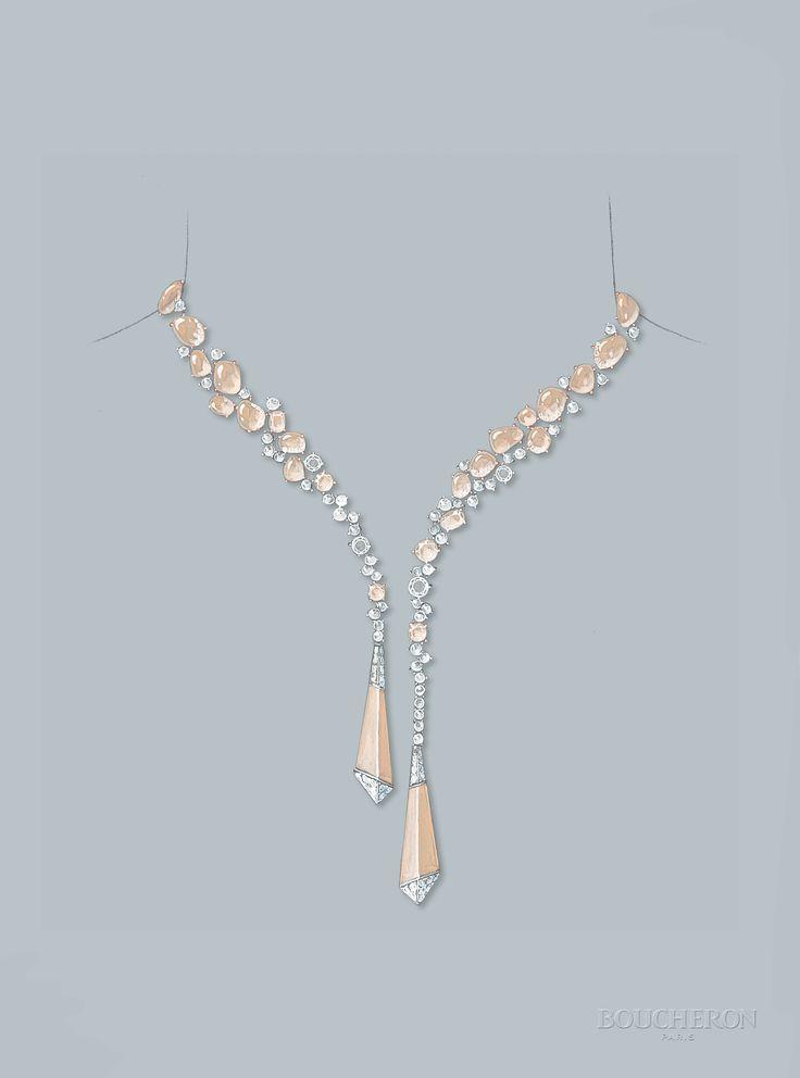 Drawn necklace boucheron BOUCHERON best Boucheron 620 images