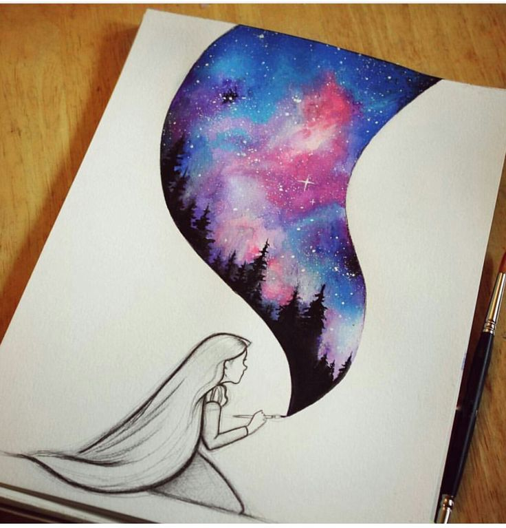 Drawn night sky moon painting But 25+ you lot this