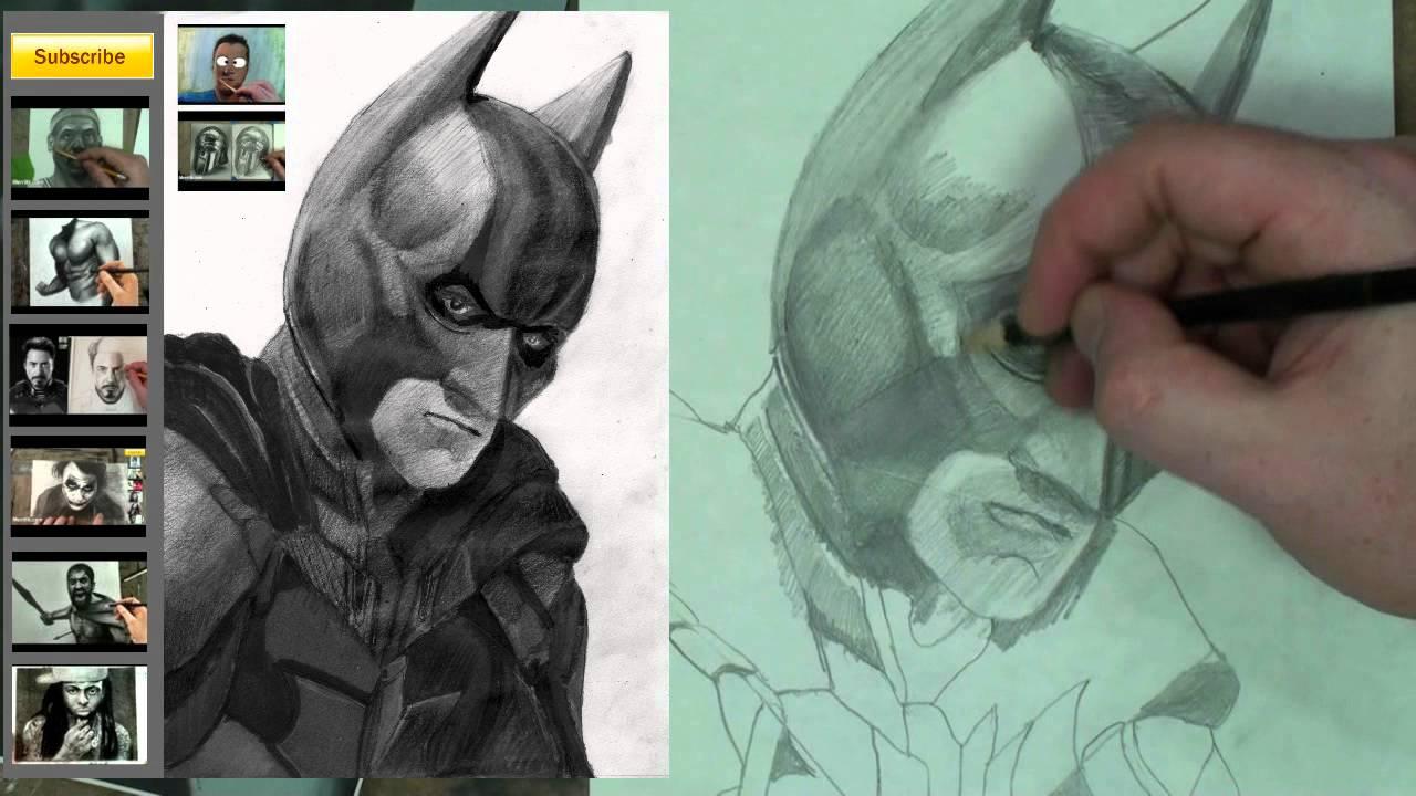 Drawn batman batman dark knight Step (Dark Batman to Knight)